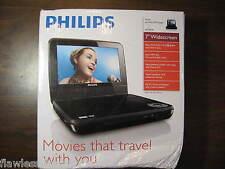 PHILIPS LCD Widescreen Portable Car DVD Player PET741 PET741B PET741B/37 NEW