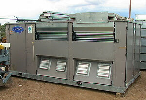 Nos 20 ton carrier commercial hvac unit 50ejq024 611dc for 1 5 ton window ac unit consumption per hour