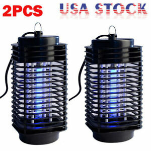Details about 2x Electric Mosquito Fly Bug Insect Zapper Killer Trap Lamp  110V Stinger Pest BL