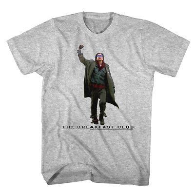 Breakfast Club Fist Pump John Bender Mens T Shirt Class of 85 Comedy Judd Nelson