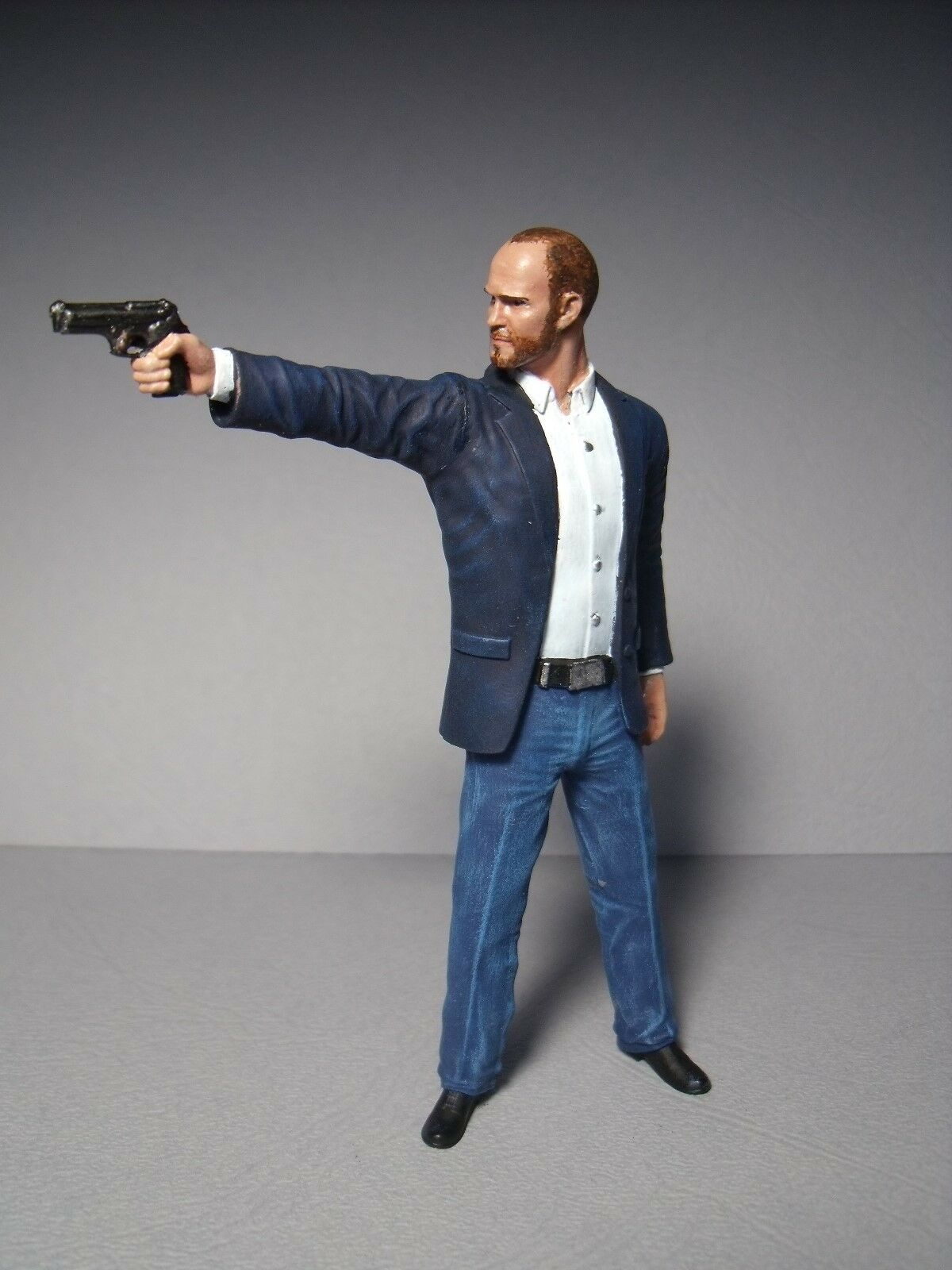1 18 pintadas personaje casi and Furious Jason Statham Vroom fur mattel