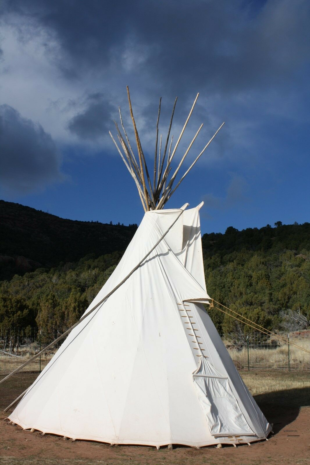 Sioux Estilo Patio Tipi Tipi - 12ft.  Sunforger Lona