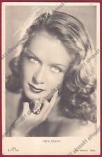 VERA CARMI 03 ATTRICE ACTRESS CINEMA MOVIE TORINO Cartolina REAL PHOTO 1942