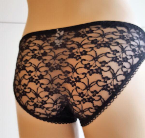 Sexy Damen Hipster Slips Schlüpfer Spitze Tangas Unterwäsche Gr.M L XL XXL
