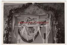 """(F12494) Orig. Foto """"Zimmeraufnahmen 1939"""", geschmückter Spiegel - Tanz-Diele"""
