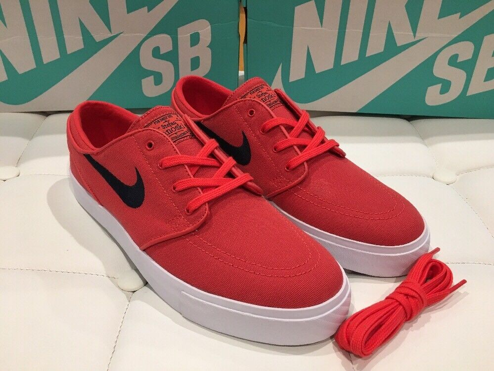 Stefan Janoski Track Red Skate Shoes Sz 10