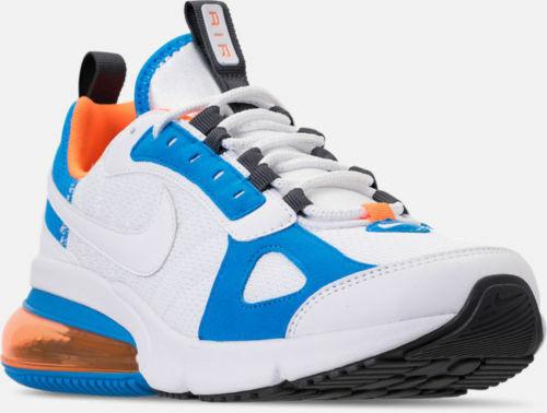 Mens Nike Air Max 270 Futura White orange blueee Athletic Running shoes AO1569-100