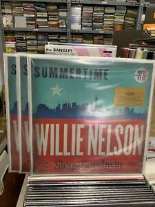 Willie Nelson LP Summertime Transparent Red Vinyl