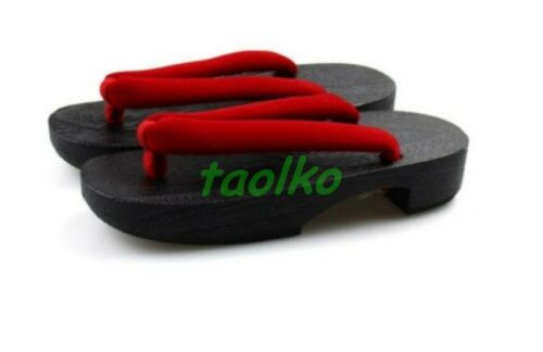Summer Girls/' Cosplay Japanese Women/'s Pure Yukata kimono Geta Platform Sandal