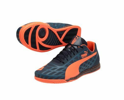 Puma Faas han Star 2018 Casual / / training soccer zapatos Navy / / Naranja 040d66
