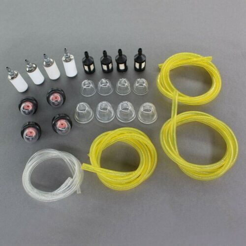 4 Sizes Fuel Filter Line Primer Bulb Kit For Poulan Weed Eater Gas Trimmer Sale