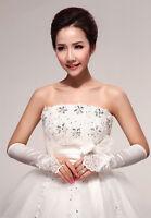 Beautiful Fingerless Lace Formal Long Opera Formal Bridal Glove Wedding Gloves
