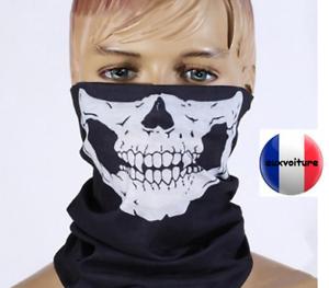 Cagoule-machoire-squelette-cache-cou-squelette-bandeau-foulard-cagoule-noir-moto