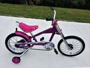 Purple Schwinn Stingray Chopper Muscle Bike..VG Cond