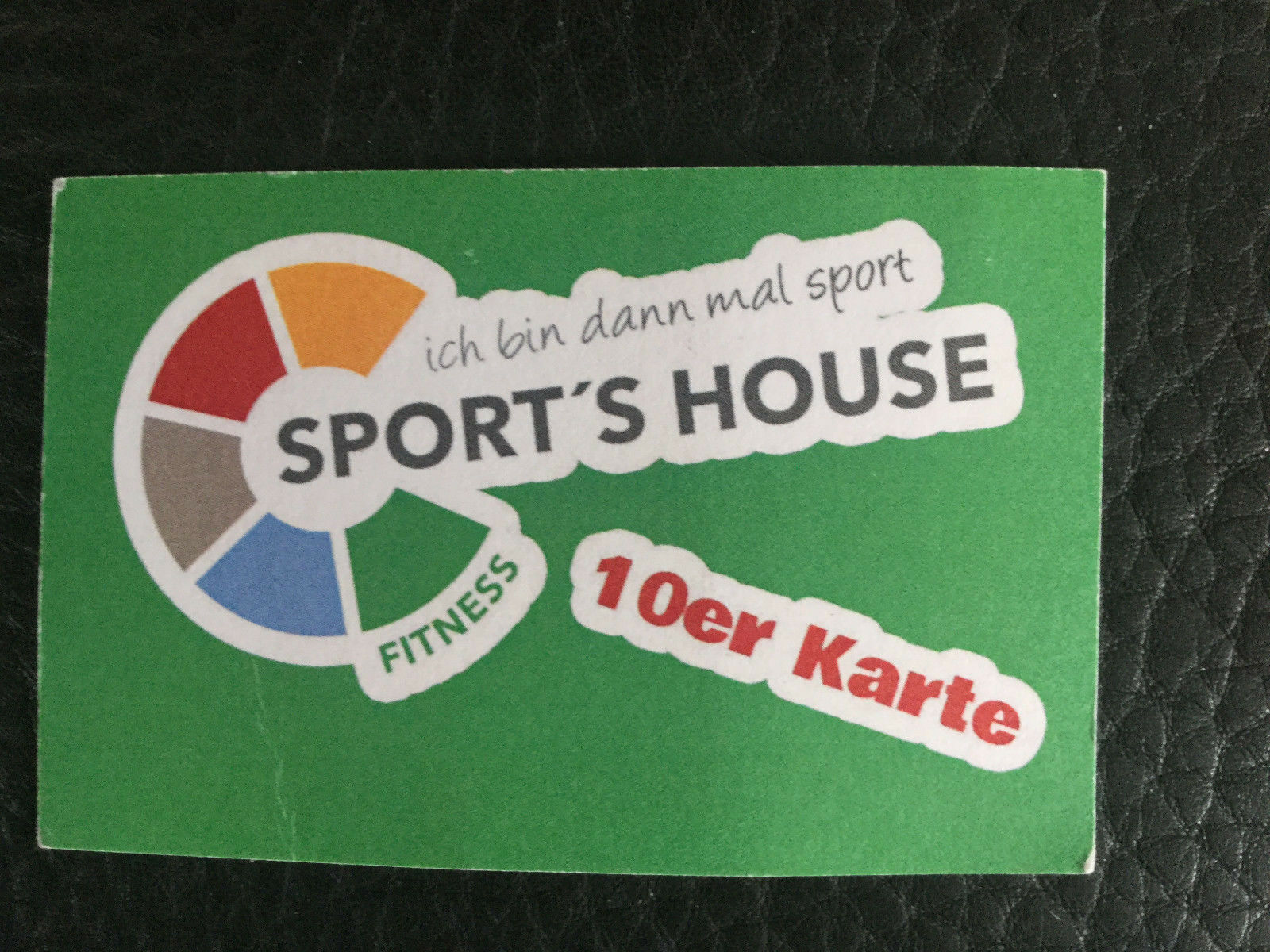 NEU 10 er Trainingskarte Fitness  Sport´s Sport´s Sport´s House Rödental  Studio 7e76b7