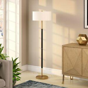 Silver-Orchid-Gotho-Matte-Black-Polished-Nickel-Floor-Lamp