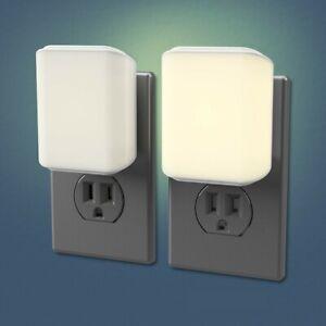 Westek Vari Dimmable LED Night Light Warm White Dusk To Dawn Plug In Nightlight