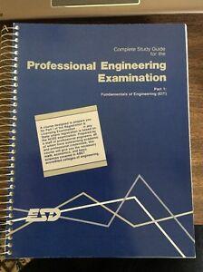 complete study guide for professional engineering exam part 1 eit ebay rh ebay com fe exam study guide civil fe exam study guide pdf