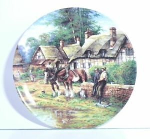 Collection-Plate-Wedgwood-Dorfleben-Lunch-Break-With-Certificate-Boxed