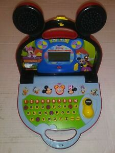 Disney-Mickey-Mouse-Clubhouse-Vtech-Mousekadoer-Laptop-Learning-Computer-Toy
