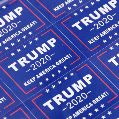 32pcs Keep America Great 2020 President Donald Trump DIY Mini Stickers Support