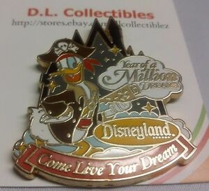 Disney-Donald-duck-year-of-a-million-dreams-travel-company-Donald-duck-Pin