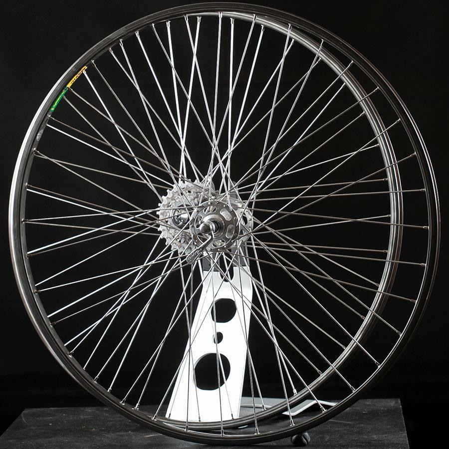 Rare 27in Road Bike Wheelset Campagnolo Record Hubs Mavic MA40 27in  630 BSD