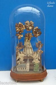 vierge-a-l-039-enfant-en-pate-a-sel-sous-petit-globe-art-populaire-religieux-19eme