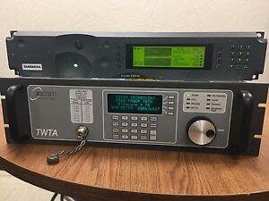 TANDBERG EN8040 HD SDI4:2:2 ENCODER DVBS2 L-Band+ XICOM 400W Ext. KU XTRD400 HPA