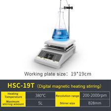 Lab Magnetic Stirrer Hot Plate Mixerdigital Displaytemperature Control5l600w