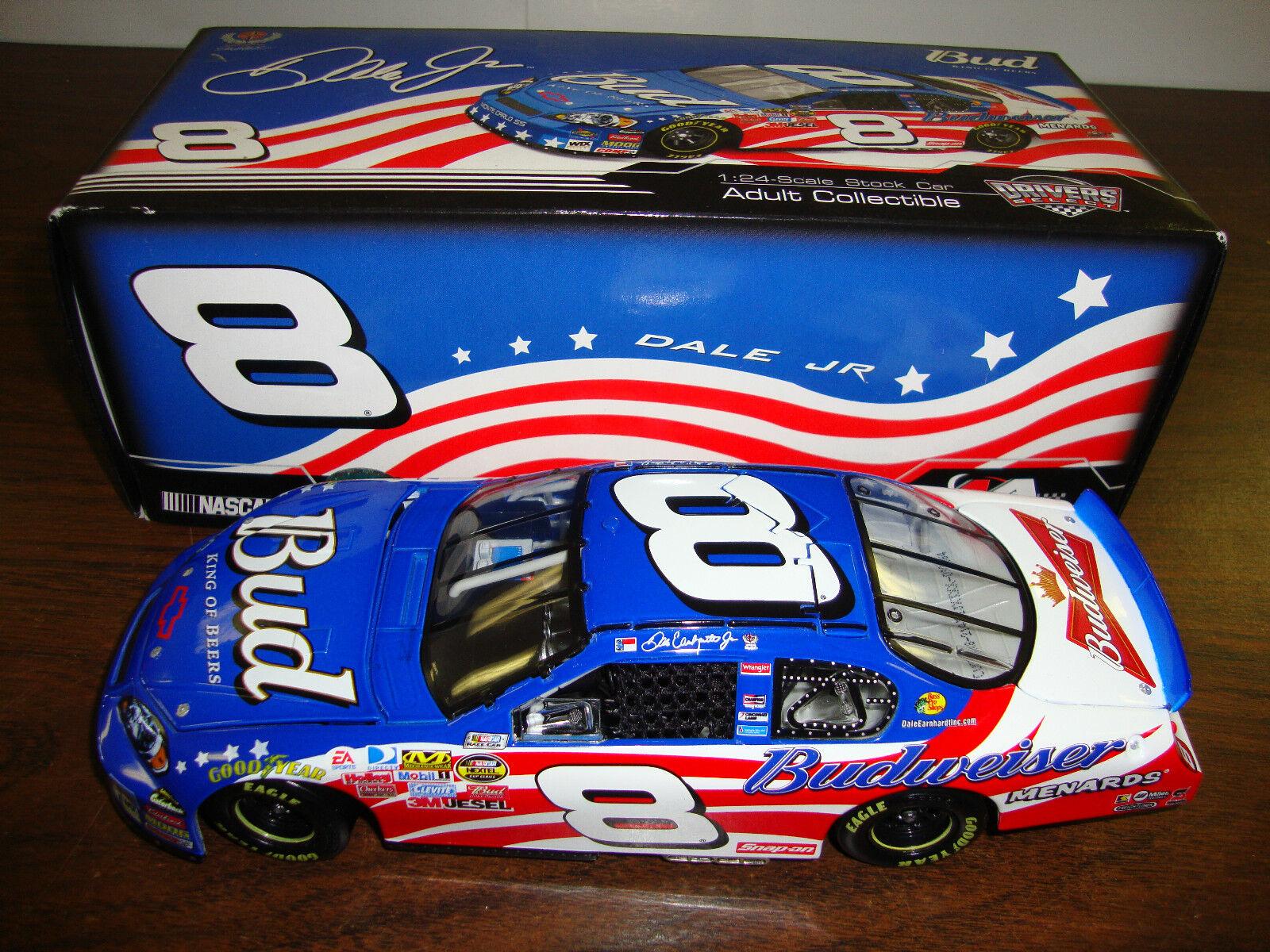 Dale Earnhardt Jr.---Bud Stars & Stripes---Drivers Select--1 24 Scale Diecast