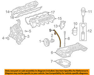 Mercedes MERCEDES-BENZ OEM 04-05 G55 AMG Engine-Oil Fluid Dipstick