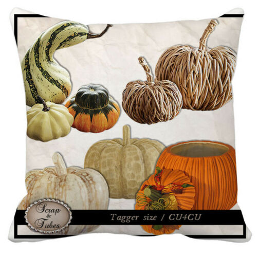 Halloween Pillow Cases Linen Sofa Pumpkin Ghosts Cat Cushion Cover Home Decor