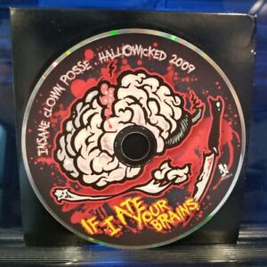 Insane-Clown-Posse-If-I-Ate-Your-Brains-Hallowicked-2009-CD-rare-twiztid-icp