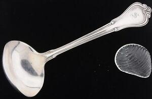 Vintage Antique Sterling Silver Large Gorham Sauce Serving Ladle