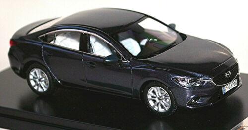 génération 2013-20 Dark-Grey Metallic 1:43 Premium-X Mazda 6 Type GJ Berline 3