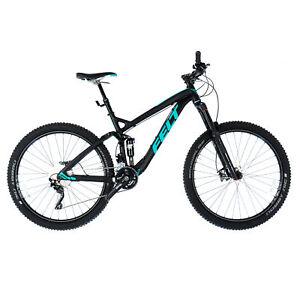 "Felt Decree 30 Trail 27.5 Full Suspension MTB Mountain Bike / 18"" Medium / Black"