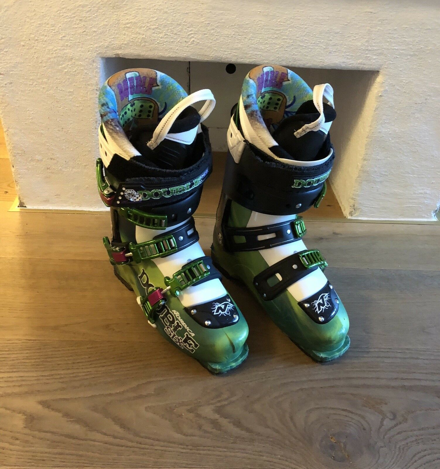 Nordica double Six Skischuhe Gr 42