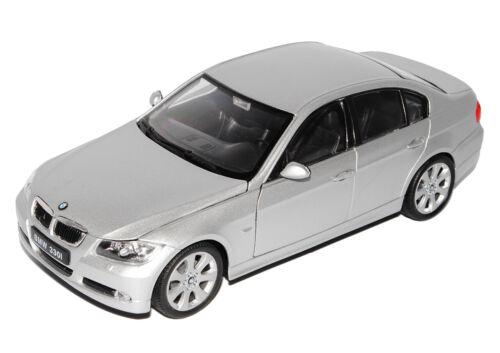 Bmw 3er e90 Limousine plata 2005-2012 1//24 Welly modelo coche con o sin indí