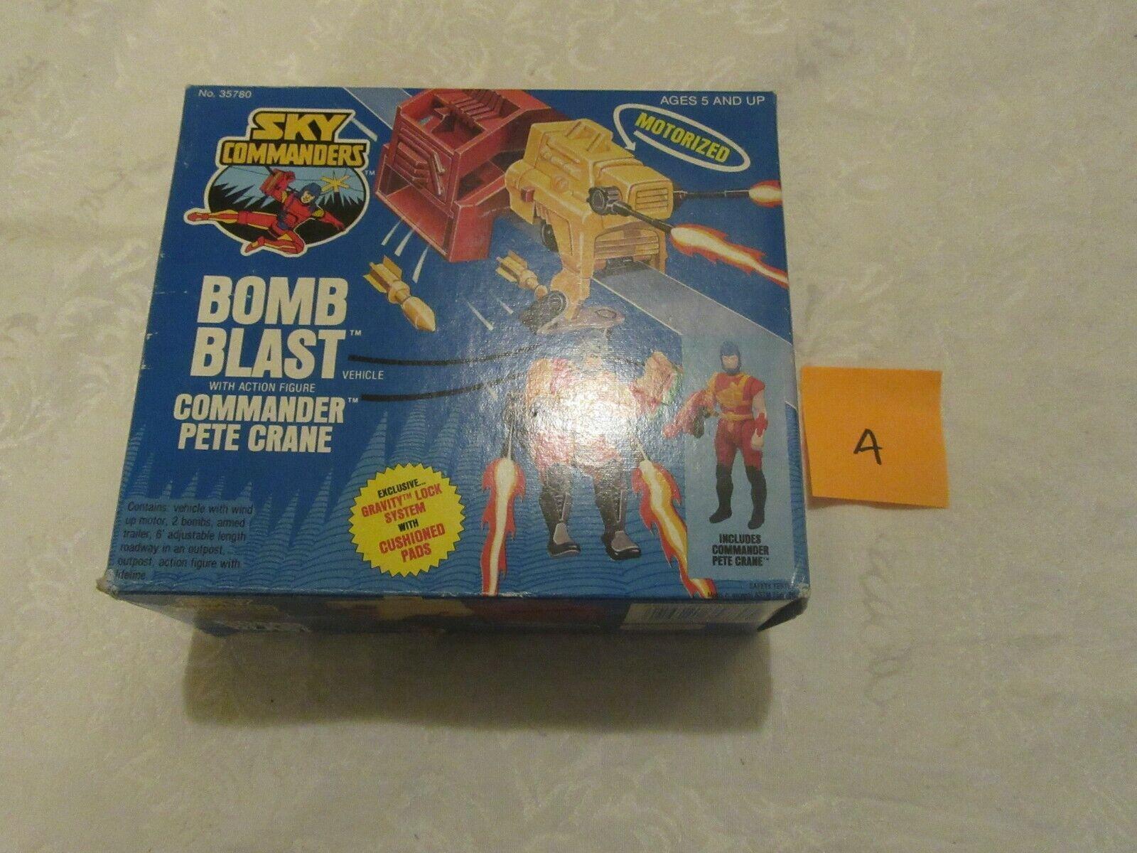 Kenner Sky Commanders Bomb Blast with Commander Pete Crane A 1987 Action Figure
