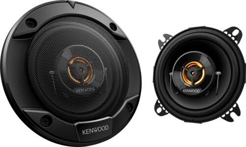 """Pair Road Series 4/"""" 2-Way Car Speakers with Cloth Cones - Black Kenwood"""