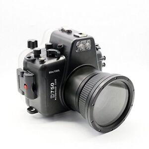 Details about Polaroid SLR Waterproof Underwater Housing Case Nikon D750  Camera - 105mm Lens