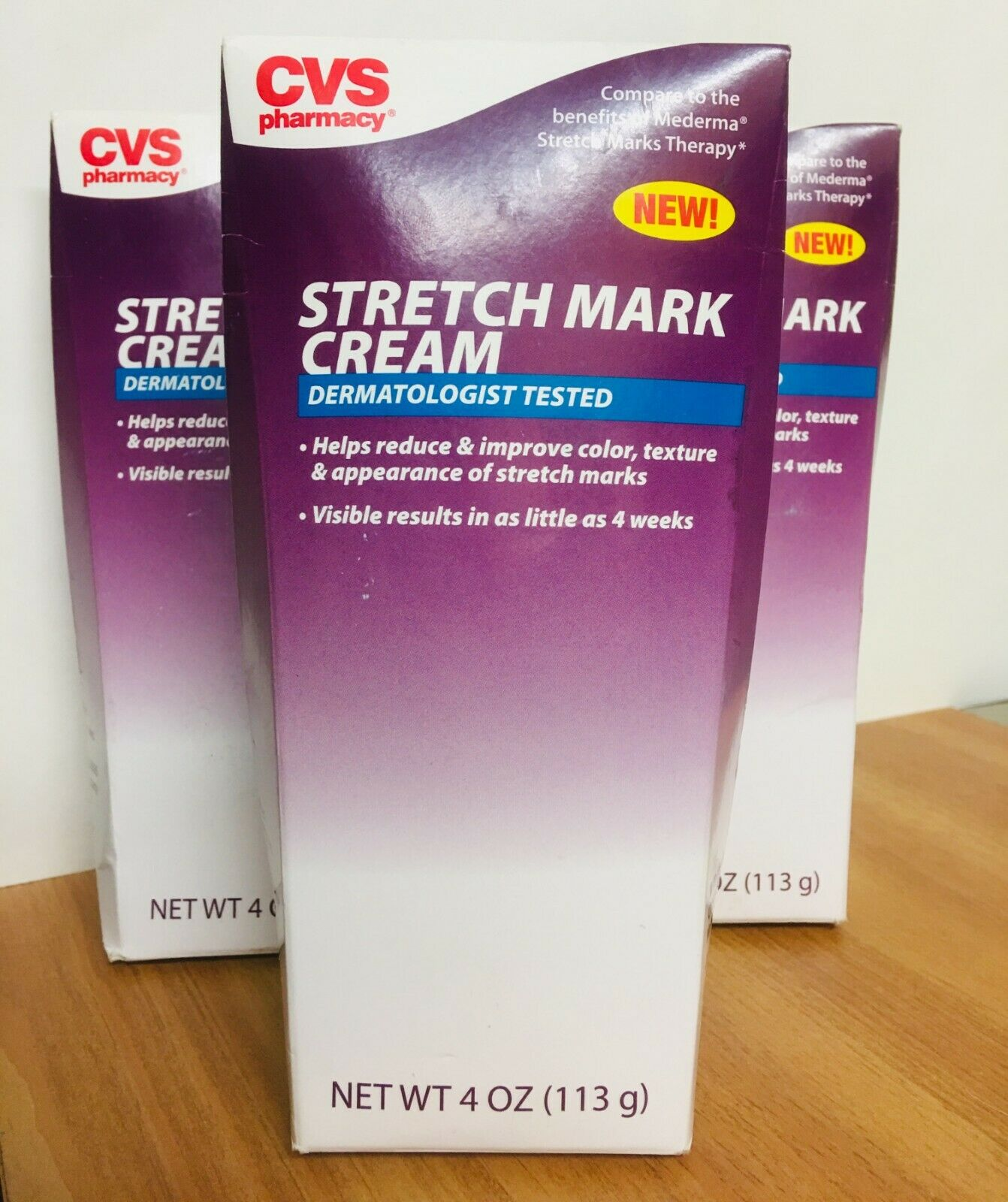 Cvs Stretch Mark Cream 4 Oz 3 Pack E 18 For Sale Online
