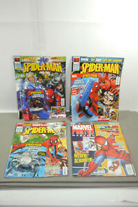Panini-Spiderman-3-Issues-30-35-37-With-Gimmick-1-Poster-Magazine-Z-1-MF10