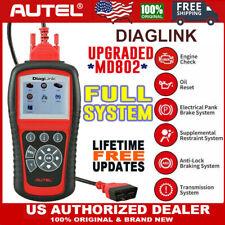 Sale Autel Diaglink Full System Diagnostic Scan Tool Diys Maxidiag Elite Md802