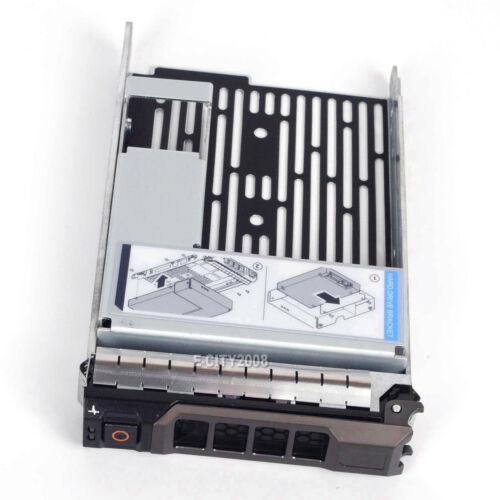 """NEW 2.5/"""" to 3.5/"""" HYBRID Tray Caddy Adapter For Dell PowerEdge T420 Ship From USA"""