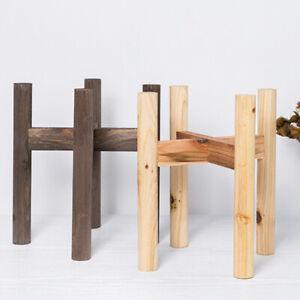 Wood-Flower-Pot-Potted-Rack-Holder-Modern-Home-Display-Plant-Stand-for-Indoors