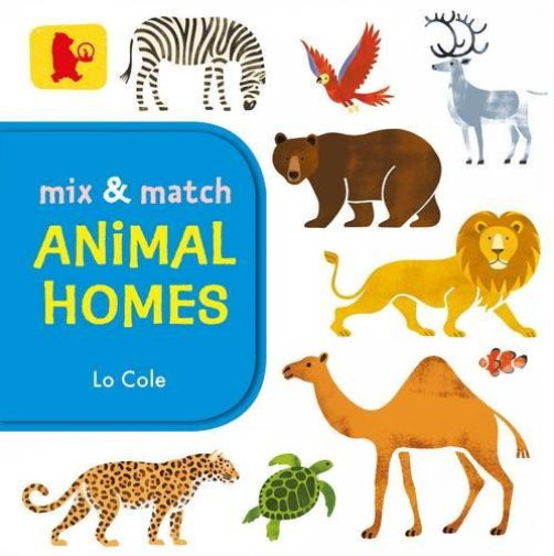 COLE,L-MIX AND MATCH:ANIMAL HOMES BOOK NEUF