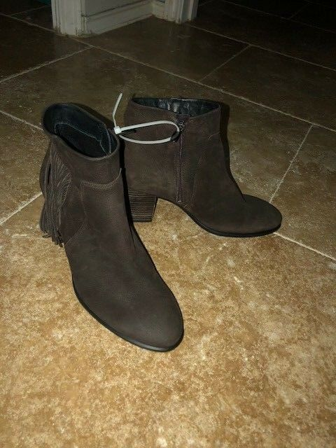 NEW Ecco 267553 02072 Shape 55 Brown Women's Boots-Size 9M-Dropped  20