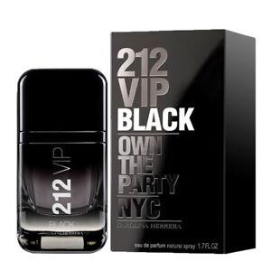 212 VIP BLACK FOR MEN de CAROLINA HERRERA - Colonia   Perfume 50 mL ... 37c0c49fa5